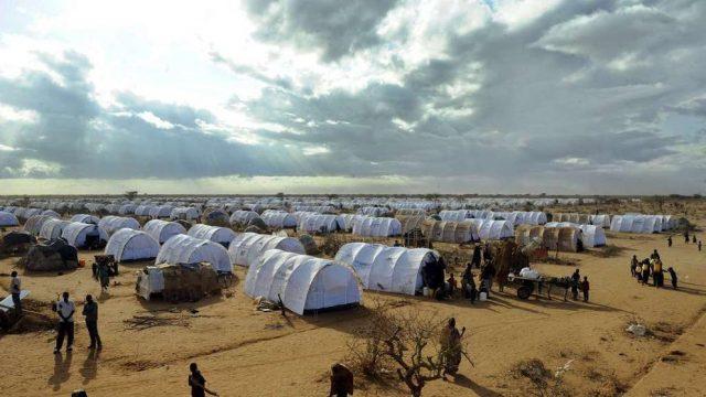 La vida en un camp de refugiats