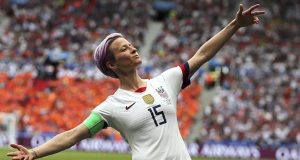 La nord americana Megan Rapione és la principal favorita per aconseguir el Baló d'Or (Francisco Seco/AP).
