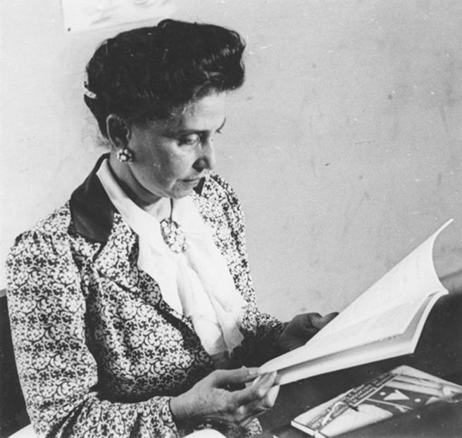 L'educadora xilena Amanda Labarca. (Museo de la Educación Gabriela Mistral)