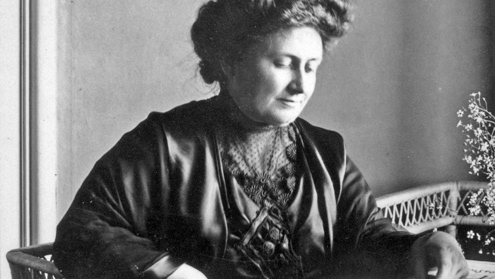 La mestra italiana MaríaMontessori.WikimediaCommons