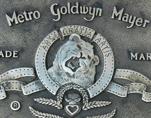 El logotip amb el lleó de la MGM
