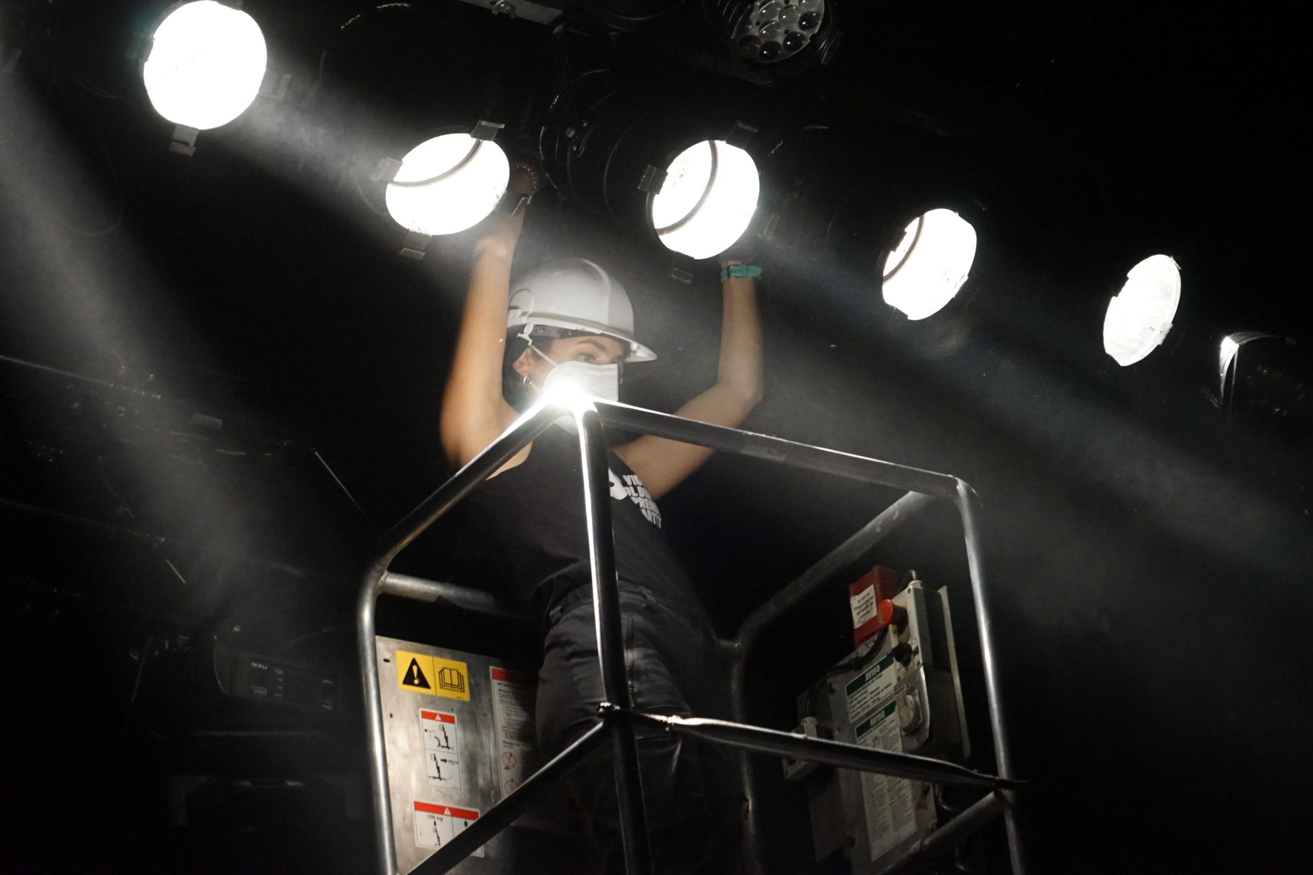 Ser tècnic d'espectacles en directe és una bona opció laboral