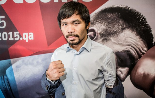 Manny Pacquiao Candidat Presidencial